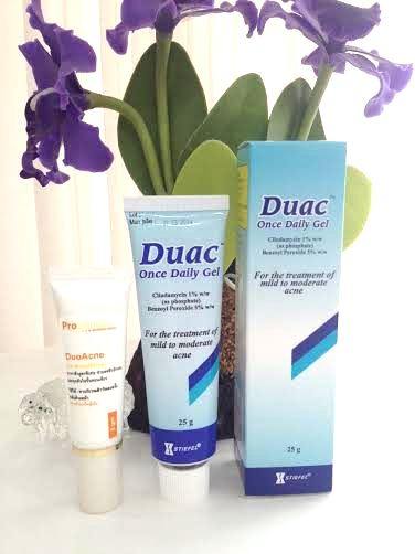 Does duac gel work